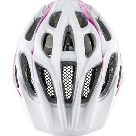 Alpina FB 2.0 Flash Kask rowerowy Dzieci, white-pink-silver